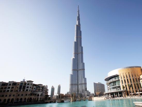 נסיכות דובאי ארצות ערב הבנין הגבוה בעולם / צלם: רויטרס